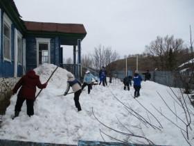 В сельском поселении Ермолкинский сельсовет 06.04.2019 г. проведены экологические субботники